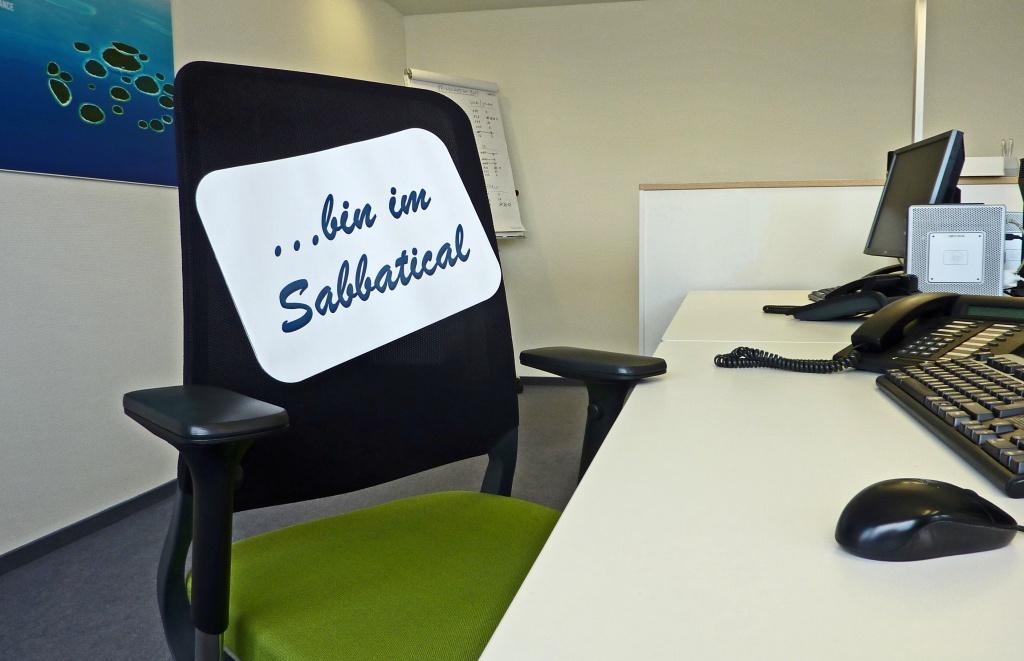 competence & more-Mitarbeiterin im Sabbatical