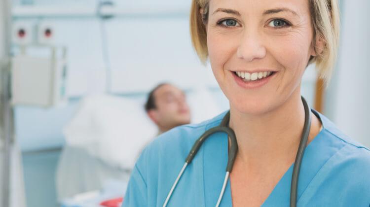 Kunden in der Krankenpflege
